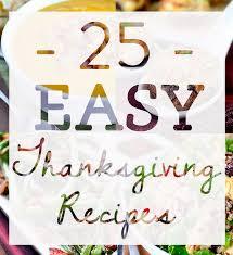 25 easy thanksgiving recipes iowa eats