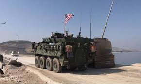 future military vehicles us military enters syria in what looks like deal with russia
