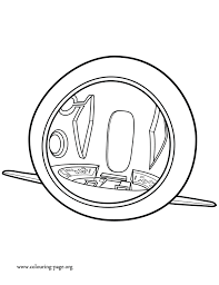 mr peabody u0026 sherman wabac machine coloring page