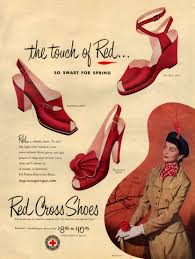 red shoes fifties absolutely love the shoes on the left and