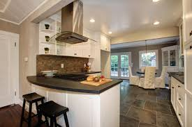 white kitchen cabinets with slate countertops fabulous 40 s bungalow ultimate designs interior