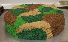 camoflauge cake sugar spice camouflage cake