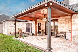 Pea Gravel Concrete Patio by Stamped Concrete Driveway Archives Allied Outdoor Solutions