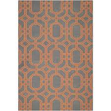 Grey And Orange Area Rug Orange And Blue Area Rug Home Rugs Ideas