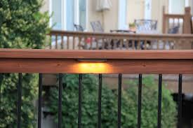 deck railing lights crafts home