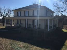 parkway farmhouse by buffalo mountain getaway vrbo wrap around porches and plenty of room to run and play