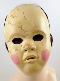 creepy mask creepy porcelain doll mask costumes wigs theater makeup and