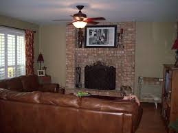 exposed fireplace home style tips wonderful under exposed