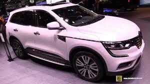 koleos renault 2018 2018 renault koleos exterior and interior walkaround 2017
