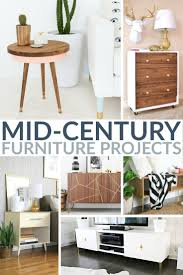 Mid Century Furniture 20 Inspirational Mid Century Furniture Projects Frugal Mom Eh