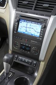 chevrolet traverse ltz 2010 chevrolet traverse ltz center stack picture pic image