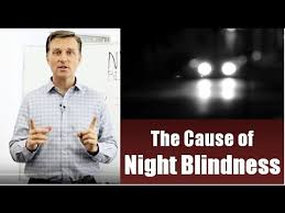 Night Blindness Information The Cause Of Night Blindness Youtube