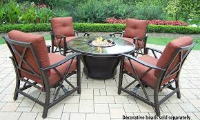Firepit Set by Amazon Com Oakland Living Moonlight Round Gas Firepit Table With