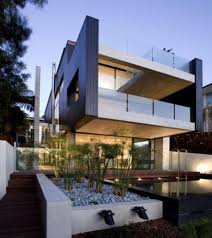 Custom House Designs by Contemporary House Plans With Pools U2013 Modern House