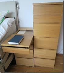 Malm Side Table Malm Extendable Bedside Table Ikea Hackers
