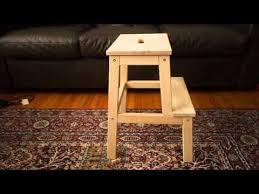 bekvam step stool overview of ikea bekvam step stool youtube