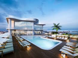 new design house infinity pools in mumbai wonderful white blue wood modern design
