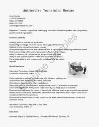 Sample Resume For Automotive Technician by Resume Automotive Technician Sample Auto Mechanic Resume Template