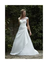 romantica wedding dresses romantica amari satin wedding gown with ivory silver size 18