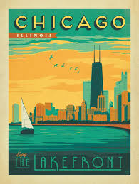 Home Decor Stores Chicago by Amazon Com Anderson Design Group Chicago Lakefront Print