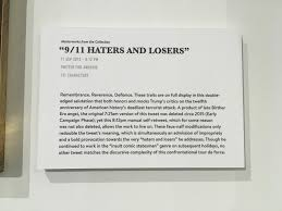 the daily show made a museum of tweets for some reason
