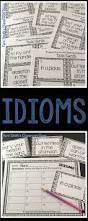 idiom worksheets these idiom worksheets complement any lesson on