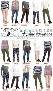 gap patterned leggings fall gap capsule wardrobe mix match outfits for everyday