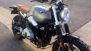 bmw motorcycle scrambler bmw r ninet scrambler walkaround video dailymotion