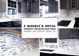 marble subway tile kitchen backsplash glass ideas mosaic subway tile com glass subway tile kitchen