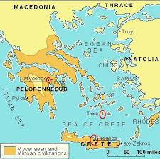 Greece On A Map by Ancient Aegean Map Arthistory390 Flickr