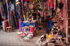 Ohio is it safe to travel to morocco images The souks of the marrakech medina morocco jpg