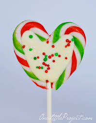 heart lollipop how to make candy hearts
