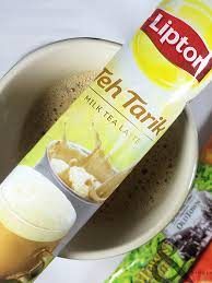 Teh Lipton all right tea cringe instant milk tea