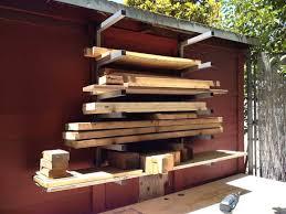 lumber storage rack system plans diy free download pro ject wood