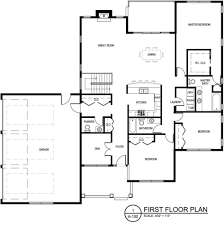 family house plans apartments single house floor plan single story bedroom house