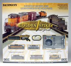 bachmann n 24131 golden spike set with digital