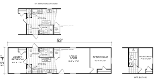 Floor Plans For Mobile Homes Single Wide Single Wide Mobile Homes Factory Expo Home Centers