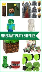 minecraft party supplies minecraft party supplies party printables