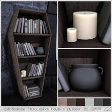 coffin bookshelf alouette coffin bookcase to decorate sl