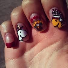 25 thanksgiving day nail arts for pretty designs