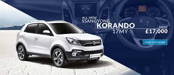 ssangyong new ssangyong korando in doncaster south yorkshire burrells