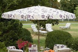 edgewood 9 ft patio umbrella floral print crank the outdoor