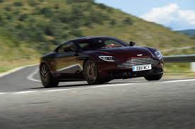 aston martin db11 2018 aston martin db11 v 8 review german power british speed