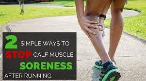 Simple Calf - 2 simple ways to survive calf soreness after racing