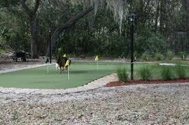 Diy Backyard Putting Green by Florida Backyard Putting Green Do It Yourself Diy Project