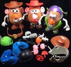 toy story potato head lot buzz woody jessie potato head