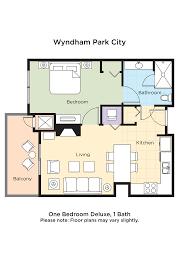 Wyndham Bonnet Creek Floor Plans by Club Wyndham Wyndham Park City