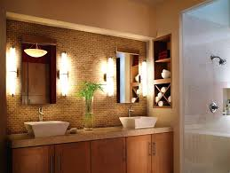 Ikea Canada Bathroom Vanities Led Bathroom Vanity Lights Home Depot Kichler Barrington 3 Light 9