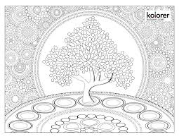 coloring pages for adults tree free adult coloring pages celtic tree of life download adult