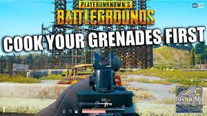 pubg how to cook grenades cook your grenades first pubg youtube